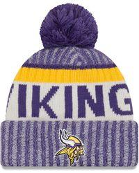 Lyst - Ktz Minnesota Vikings Orlantic 9Forty Cap in Purple for Men 5dbef995d