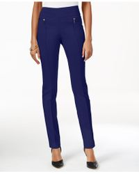 Style & Co. - Skinny Pull-on Pants - Lyst