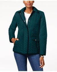 Charter Club | Petite Quilted Jacket | Lyst