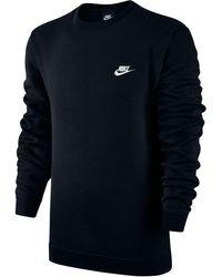 Nike - Men's Sportswear Long-sleeve Fleece Sweatshirt - Lyst