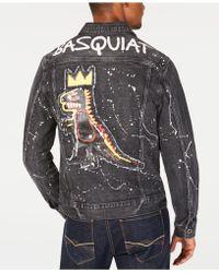 Sean John - Basquiat Pez Denim Jacket, Created For Macy's - Lyst