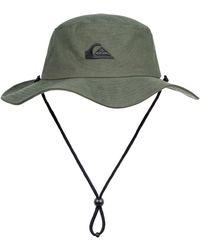 227360d5774ab1 Quiksilver Bushmaster Hat (black) Caps in Gray for Men - Lyst