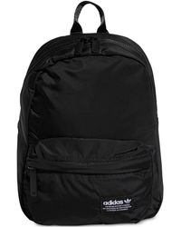 Adidas Originals Berlin Backpack With White Stripes in Black - Lyst 1d88d9ac62764