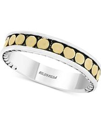 Effy Collection Effy® Two-tone Band In Sterling Silver & 18k Gold-plated Sterling Silver - Metallic