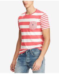 Polo Ralph Lauren - Classic Fit Striped T-shirt - Lyst