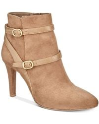 Rialto - Caleigh Pointed Toe Ankle Booties - Lyst