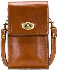Patricia Nash - Heritage Ravell Leather Crossbody - Lyst