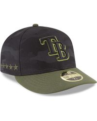 KTZ - Tampa Bay Rays Memorial Day Low Profile 59fifty Fitted Cap - Lyst cfc4afbdd