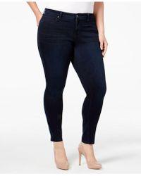 Jessica Simpson - Plus Size Od Black Wash Skinny Jeans - Lyst