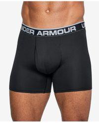 "Under Armour - Threadborne Microthread 6"" Underwear - Lyst"