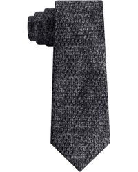 DKNY - Photo Realistic Dot Print Slim Silk Tie - Lyst