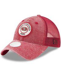newest collection 8709b 18c97 ... france ktz san francisco 49ers perfect patch 9twenty snapback cap lyst  b84f3 2b2da