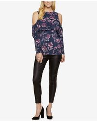 Jessica Simpson - Maternity Faux Leather Skinny Pants - Lyst