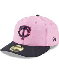 KTZ - Minnesota Twins Mothers Day Low Profile 59fifty Fitted Cap - Lyst