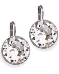 Swarovski - Earrings, Bella Crystal Drops - Lyst