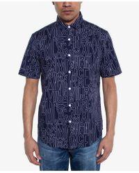 Sean John - Regular-fit Logo-print Shirt - Lyst