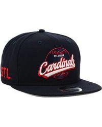 KTZ - St. Louis Cardinals Vintage 9fifty Snapback Cap - Lyst