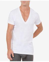 2xist - Men's Slim-fit Deep V-neck Undershirt - Lyst