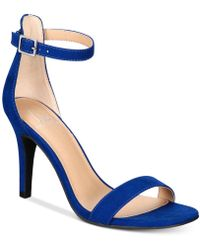 Material Girl - Blaire Two-piece Dress Sandals, Created For Macy's - Lyst