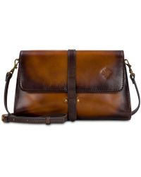 Patricia Nash - Tijola Stained Leather Crossbody - Lyst