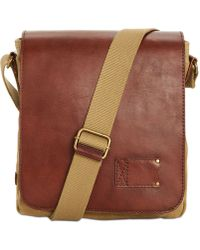 Patricia Nash - Leather North South Crossbody Bag - Lyst