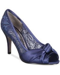 Adrianna Papell - Francesca Evening Court Shoes - Lyst