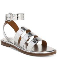 Franco Sarto - Kyson Flat Sandals - Lyst