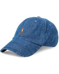 89f3400bd6493 Lyst - Pink Pony Us Open Mesh Sports Cap in Blue for Men