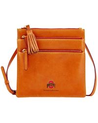 Dooney & Bourke - Triple Zip Crossbody Bag - Lyst