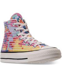 Lyst Converse Star Chuck Taylor All Star Converse X Mara Hoffman Oxford Sneaker ... fb3954