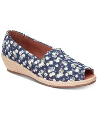 Lyst - Gentle Souls By Kenneth Cole Luci A-line Espadrille Wedges