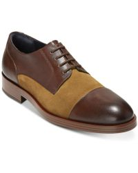 Cole Haan - Henry Grand Cap-toe Oxfords - Lyst