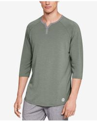 Under Armour - Recovery Pajama Henley Shirt - Lyst