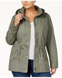 Style & Co. - Plus Size Twill Utility Jacket - Lyst