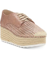 INC International Concepts - Abrelia Espadrille Platform Trainers, Created For Macy's - Lyst