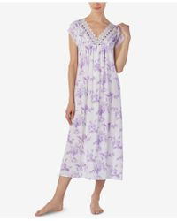 Eileen West - Knit Cap Sleeve Ballet Nightgown - Lyst
