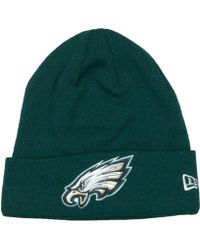 Lyst - 47 Brand Philadelphia Eagles Breakaway Knit Hat in Black for Men 54ae65e73