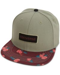 Converse - Men's Printed Snap-back Hat - Lyst