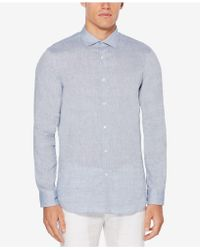 Perry Ellis - Slim-fit Shirt - Lyst