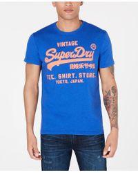 Superdry - Logo T-shirt - Lyst