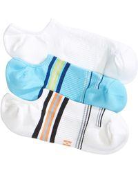 Hue - 3-pk. Air Sleek Compression Cushioned Liner Socks - Lyst