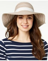 INC International Concepts - I.n.c. Metallic Textured Packable Hat, Created For Macy's - Lyst