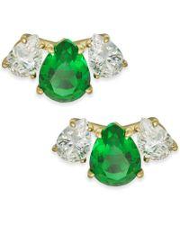 Danori - Crystal & Stone Stud Earrings, Created For Macy's - Lyst