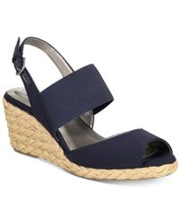 Bandolino - Himeka Espadrille Wedge Sandals, Created For Macy's - Lyst