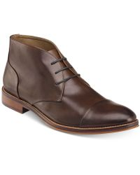 Johnston & Murphy - Men's Conrad Cap-toe Chukka Boots - Lyst