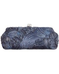 Adrianna Papell - Sia Embroidered Small Clutch - Lyst