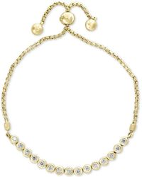 Effy Collection - Bubbles By Effy® Diamond Bezel Bolo Bracelet (5/8 Ct. T.w.) - Lyst