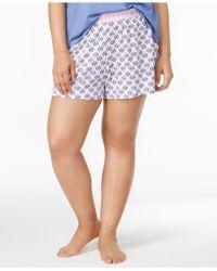 Hue - Plus Size Sleep Boxer Shorts - Lyst