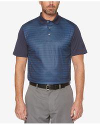 PGA TOUR - Striped Polo - Lyst