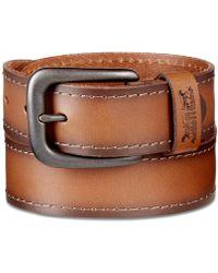 Levi's - Stitched Leather Belt - Lyst
